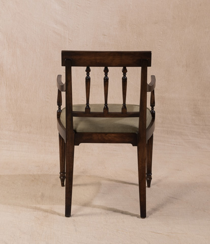 Sarreid Ltd. - George III Chair - V22633