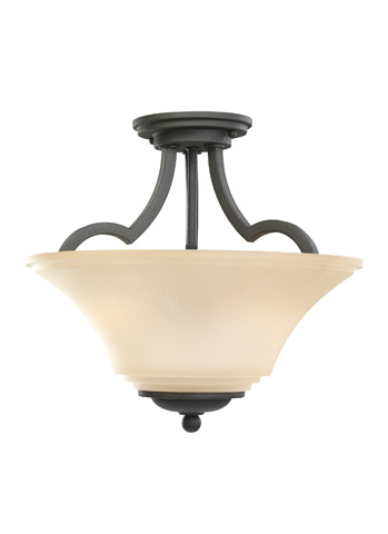 Sea Gull Lighting - Two Light Semi-Flush Convertible Pendant - 77375-839