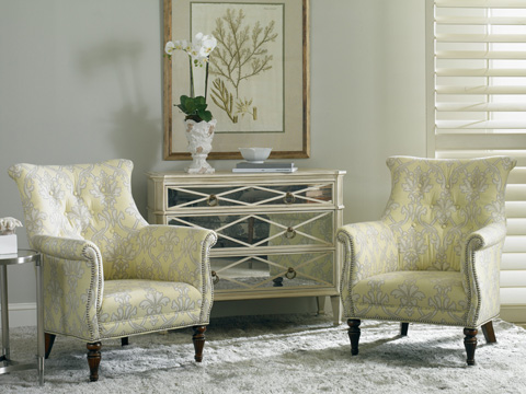 Sherrill Furniture Company - Tufted Stylized Chair - DC77