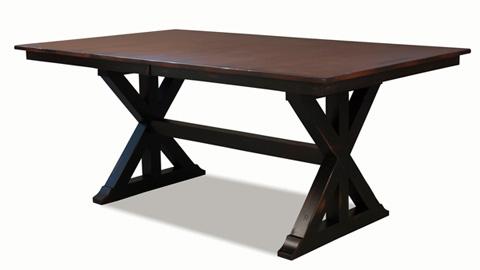 Saloom Furniture - Weston Dining Table - MEWS 4272-1