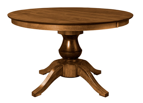 Saloom Furniture - Woodstock Dining Table - MTWO 5454