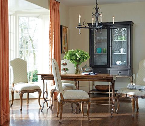 Stanley Furniture - Villette Heirloom Cherry Flip Top Console Table - 222-15-06