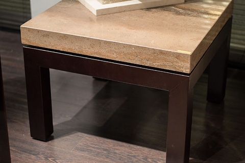 Stone International - Rectangular Cocktail Table - 0472
