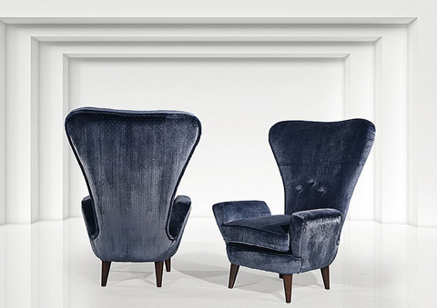 Stone International - Wing Back Chair - 0845