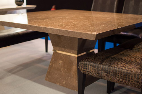 Stone International - Clepsy Plus Stone Dining Table - 9886/SQ