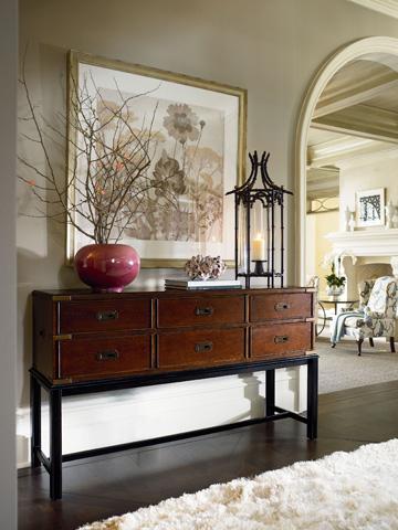 Thomasville Furniture - Campaign Sofa Table - 46891-720