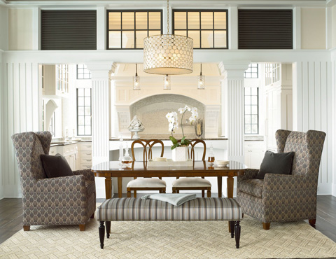Thomasville Furniture - Newcastle Wing Chair - 1840-15