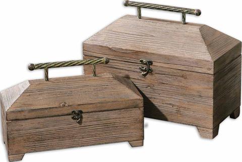 Uttermost Company - Tadao Natutal Wood Boxes - 19653
