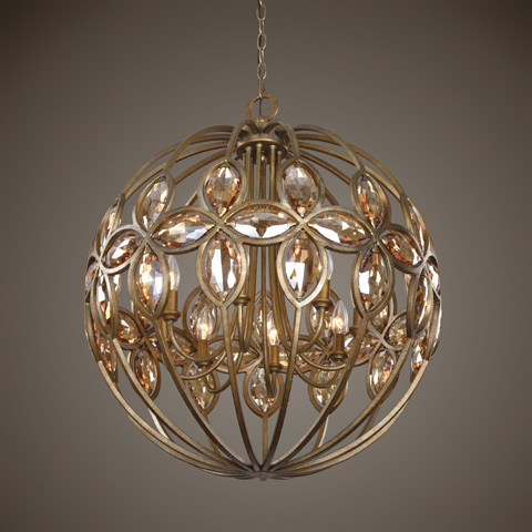 Uttermost Company - Ambre Chandelier - 21269