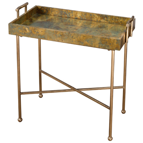 Uttermost Company - Couper Tray Table - 24448