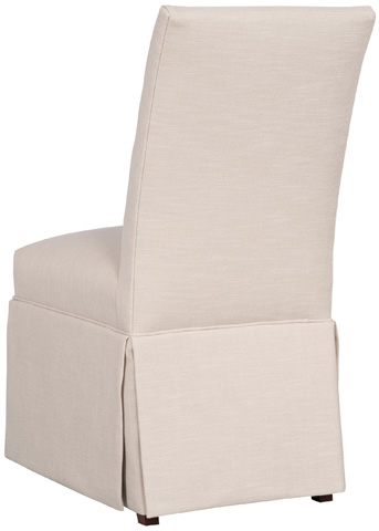 Vanguard Furniture - Butler Skirted Side Chair - V288DS