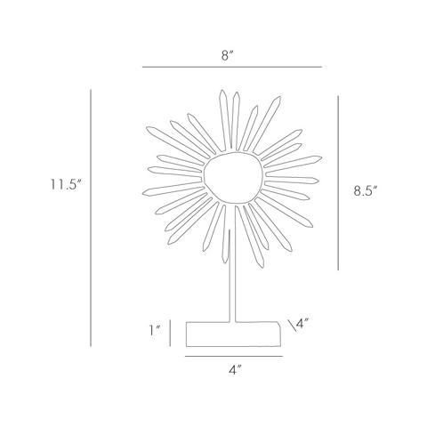 Arteriors Imports Trading Co. - Omari Medium Sculpture - 9112