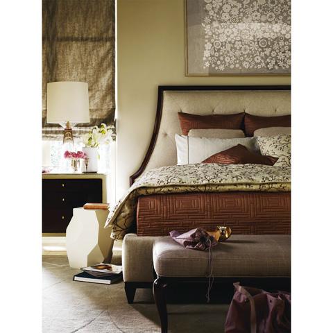 Baker Furniture - Soft Corner Bedside Chest - 3608G-1