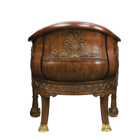 Baker Furniture - Lion's Head Pull Up Chair - 5205