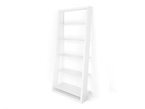 BDI - Eileen Blanc Leaning Bookshelf - 5157