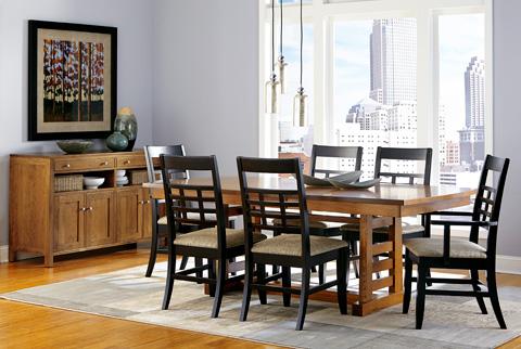 Borkholder Furniture - Sunset Hills Trestle Table - 47-8001LF1