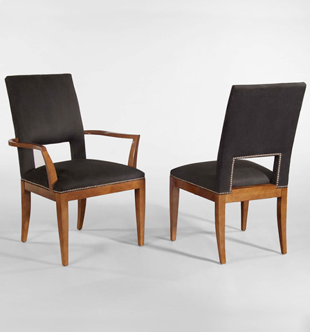 Century Furniture - Square Back Side Chair - 849-531