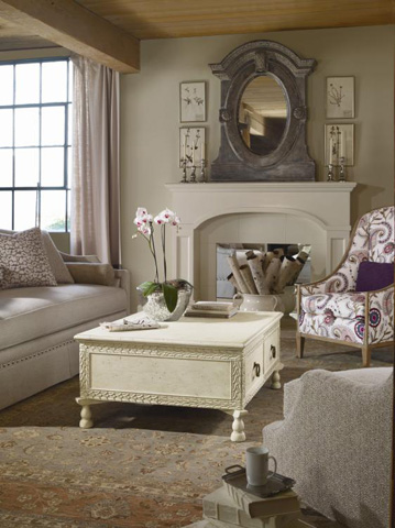 Century Furniture - Laurel Cocktail Table - 669-602