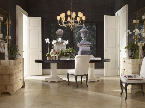 Century Furniture - Lexington Double Pedestal Dining Table - I29-302