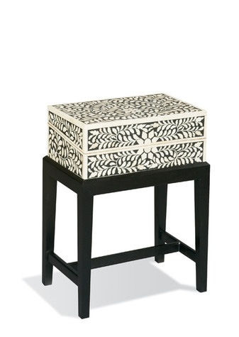 CTH-Sherrill Occasional - Accent Table with Inlaid Box - 960-800