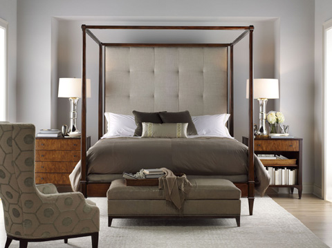 Hickory Chair - Artisan King Poster Bed - 158-13