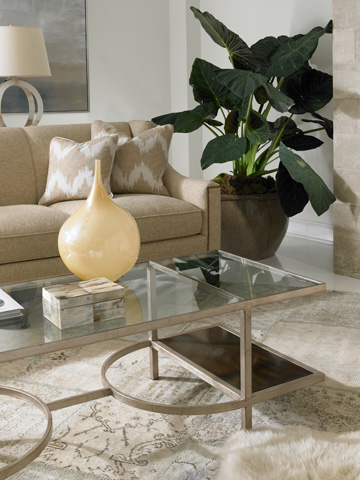 Hickory White - Sheffield Cocktail Table - 443-11