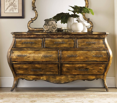 Hooker Furniture - Sanctuary Six Drawer Dresser - 3016-90002