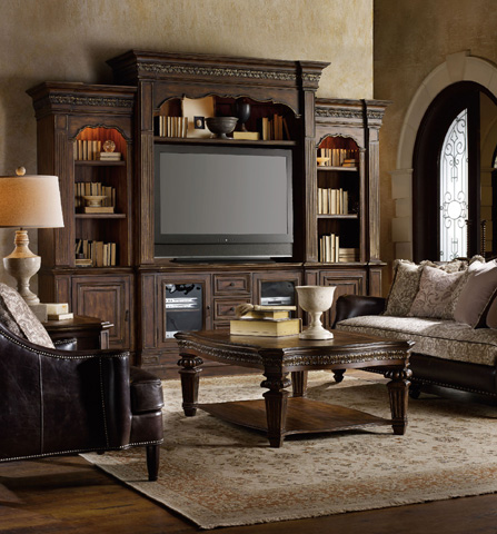 Hooker Furniture - Adagio Home Entertainment Center - 5091-70444