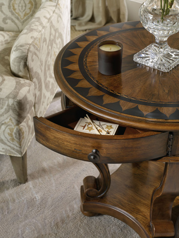 Hooker Furniture - Archivist Round Accent End Table - 5447-50001