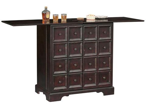 Howard Miller Clock Co. - Brunello Wine and Bar Cabinet - 695-160