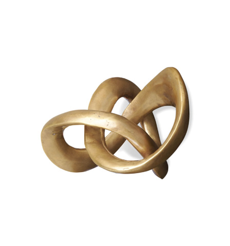 Interlude Home - Trefoil Knot Sculpture - 875060