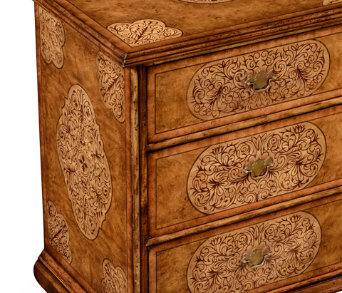Jonathan Charles - Large Seaweed Chest of Drawers - 492358