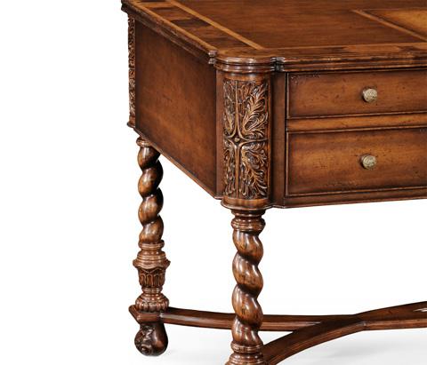 Jonathan Charles - Oyster Writing Table - 493519