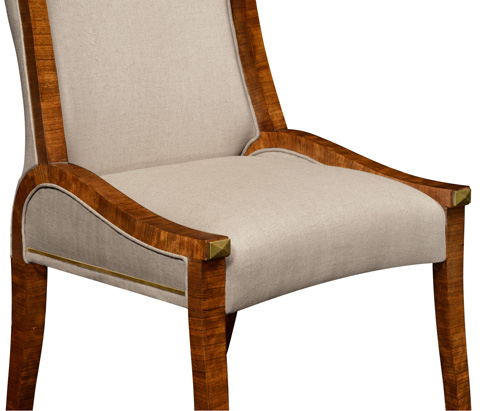 Jonathan Charles - Cosmo Dining Side Chair - 495195-DMF-SC