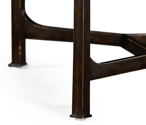 Jonathan Charles - Patinated Bronze Finish Rectangular Coffee Table - 494922-B