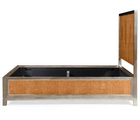 Jonathan Charles - Herringbone Argyle Blazer Queen Bed - 494932