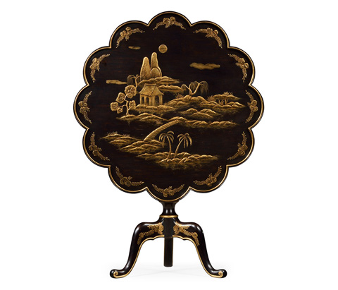 Jonathan Charles - Occasional Flit Top End Table - 495334