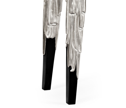 Jonathan Charles - Silver Console - 495371-SIL