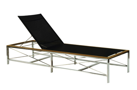 Kingsley-Bate - Ibiza Adjustable Chaise Lounge with Wheels - IB80