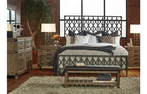 Legacy Classic Furniture - Queen Metal Bed - 5610-5005
