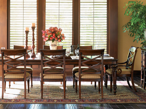 Tommy Bahama - Pelican Hill Rectangular Dining Table - 545-877