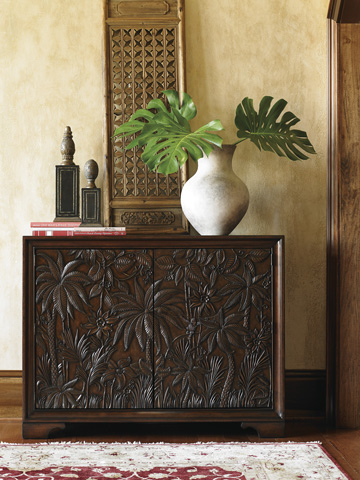 Tommy Bahama - Balboa Carved Door Chest - 545-973