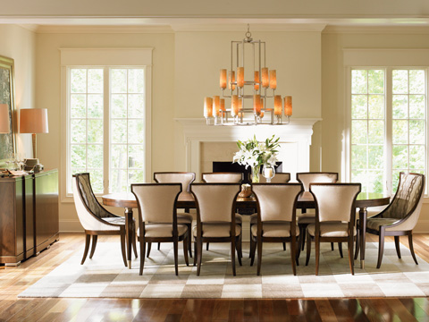 Lexington Home Brands - Drake Oval Dining Table - 706-872