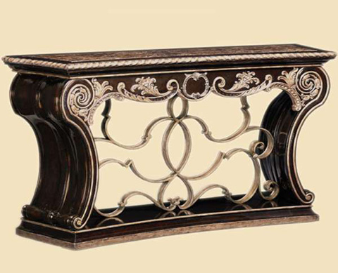 Marge Carson - Marble Top Console - PSM06-1