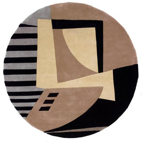 Momeni - New Wave Rug in Black - NW-022 BLACK
