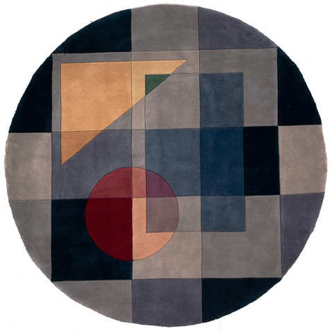 Momeni - New Wave Rug in Blue - NW-054 BLUE