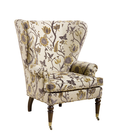 Pearson - Caster Wing Chair - 485-00