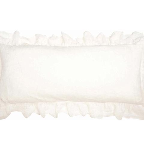 Pine Cone Hill, Inc. - Savannah Linen Gauze Ivory Decorative Pillow - SAIDPDB