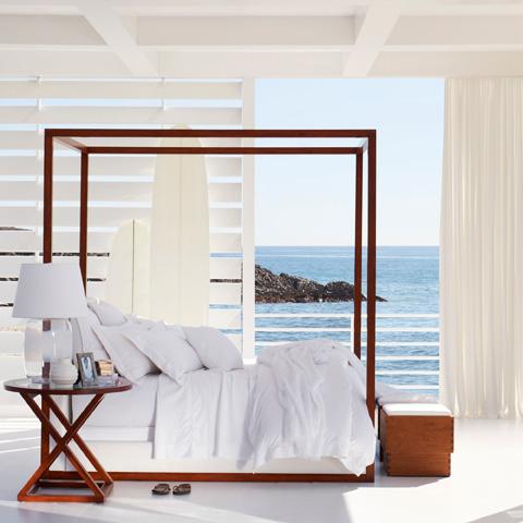 Ralph Lauren by EJ Victor - Desert Modern Canopy Bed - 4100-10