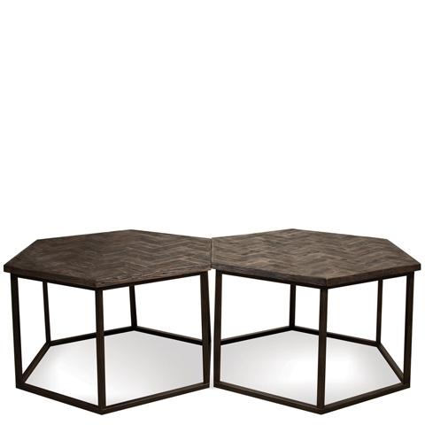 Riverside Furniture - Hexagon Coffee Table - 73101